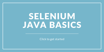 Selenium with Java Course