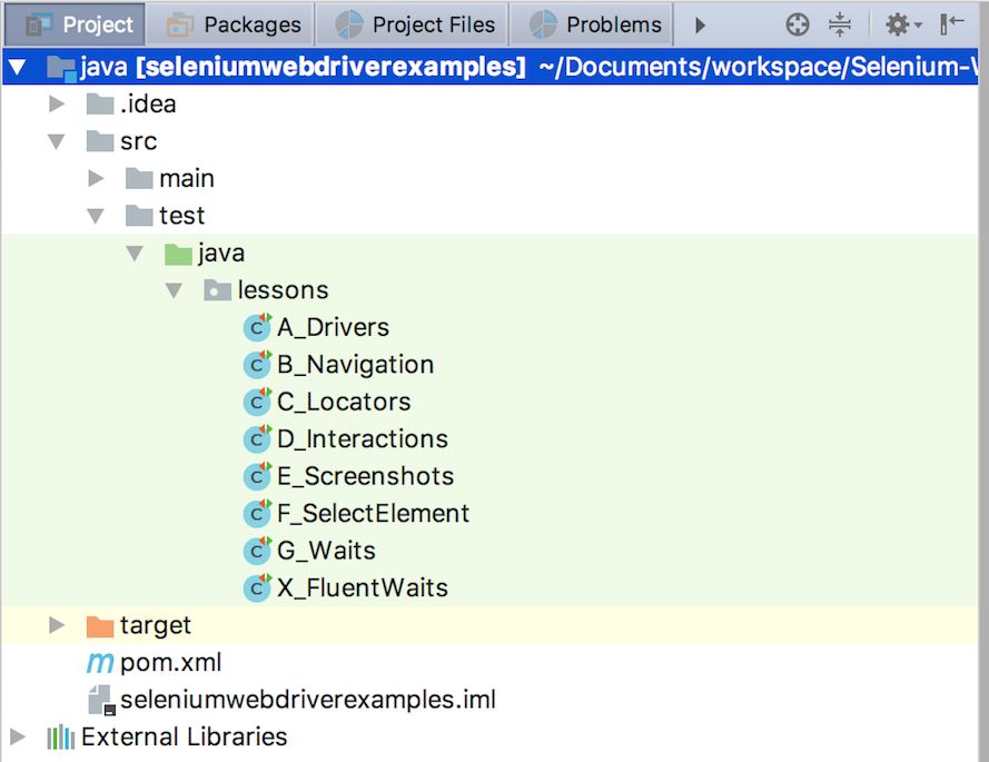 Using IntelliJ | Automation in Testing