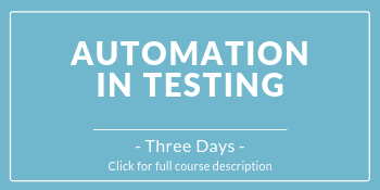 Course image for Automation in Testing