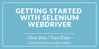 Course image for Getting Started With Selenium WebDriver