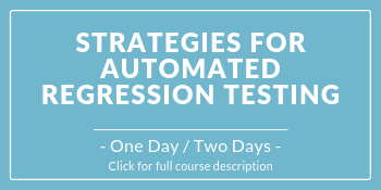 Course image for Strategies for Automated Regression Testing