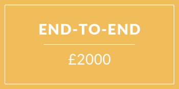 End to end sponsorship package £2000